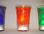 Pokemon starters shot glasses
