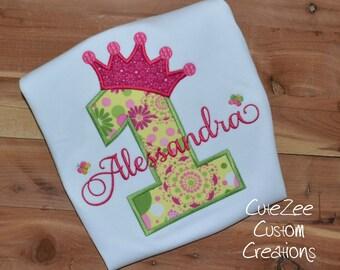Spring Princess Birthday Onepiece/Shirt