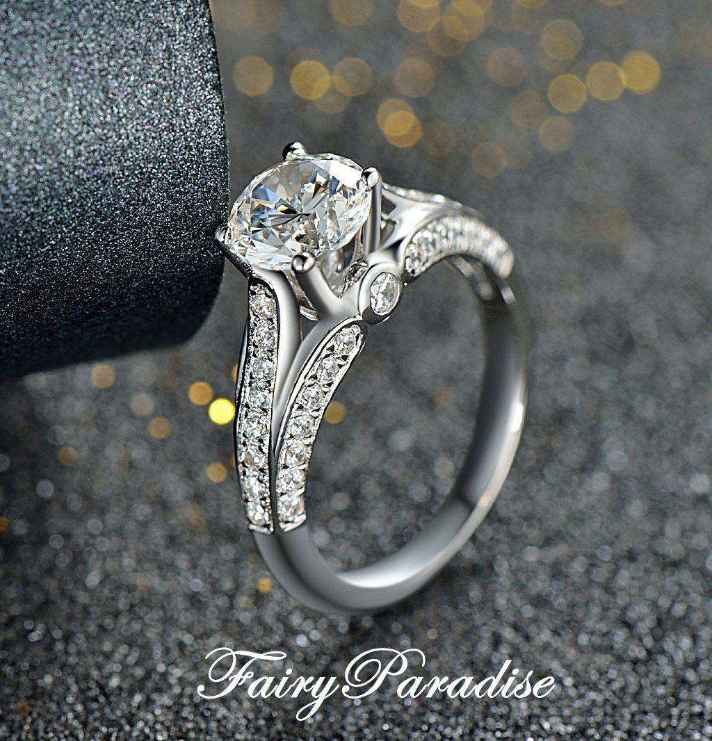 Promise Engagement And Wedding Ring Set