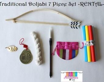 Traditional 7 Piece Doljabi Set  -FOR RENT-