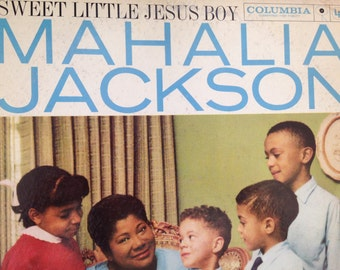 Mahalia Jackson - Sweet Little Jesus Boy - vinyl record