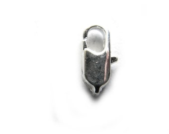 10 Silver Lobster Clasps - 12mm