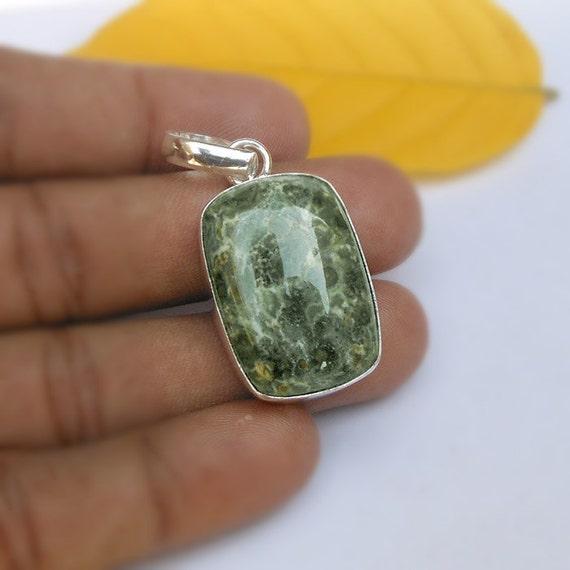 Green Jasper Jewelry Making Stones with by ...  |Green Jasper Jewelry