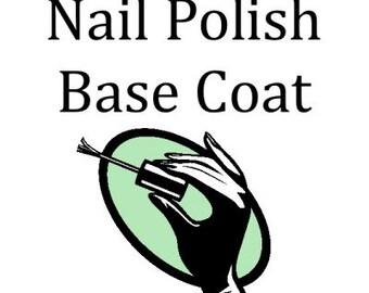 Nail Polish Base Coat - 4 ounce Refill
