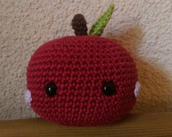 crochet pattern amigurumi apple