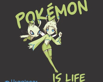 Pokemon Is Life Celebi T Shirt