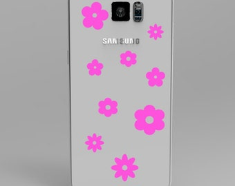 Flowers Phone Cover Decal