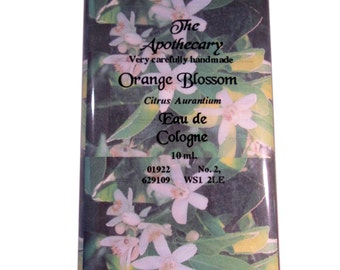 ORANGE BLOSSOM PERFUME Very Carefully Hand Made by The Apothecary