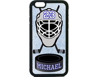 Personalized Number and Name Hockey Case Cover for iPhone 4 4s 5 5s  5C 6 6s 6 Plus 7 7 Plus iPod Touch 4 5 6 case Cover