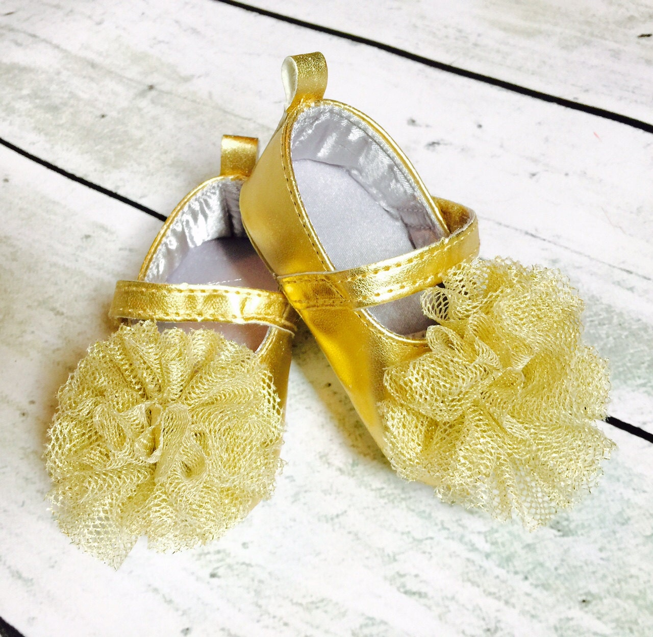 Baby Girl Shoes Baby Shoes Gold Baby Shoes Glitter Baby