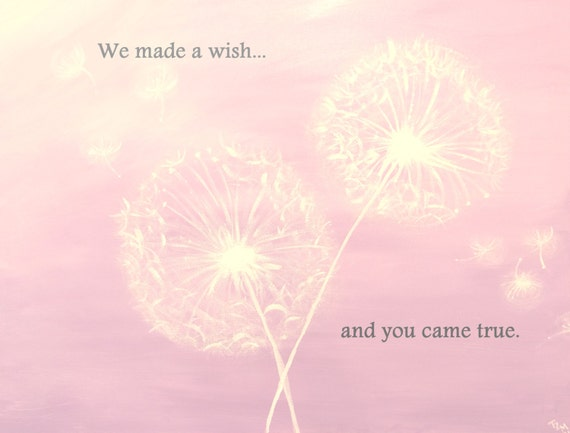 We Made A Wish And It Was You We Made: We Made A Wish...and You Came True