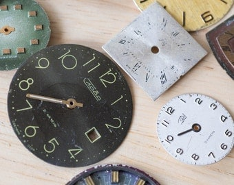 Vintage Watch Faces (Pack of 20) - Perfect For Steampunk Craft Projects