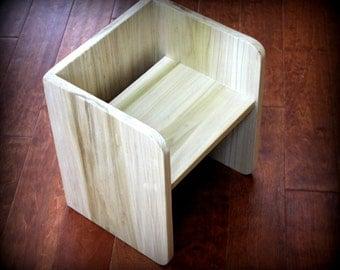 montessori large cube chair