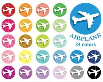 Aeroplane clipart   Etsy