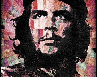 Che Guevara Revolution Red - Giclee Print