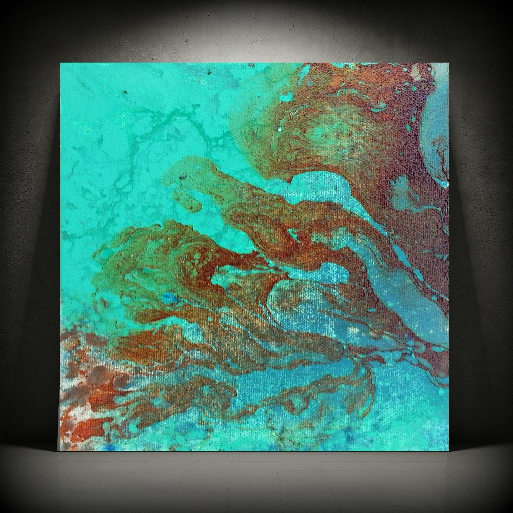 Abstract wall art painting -  Zoom