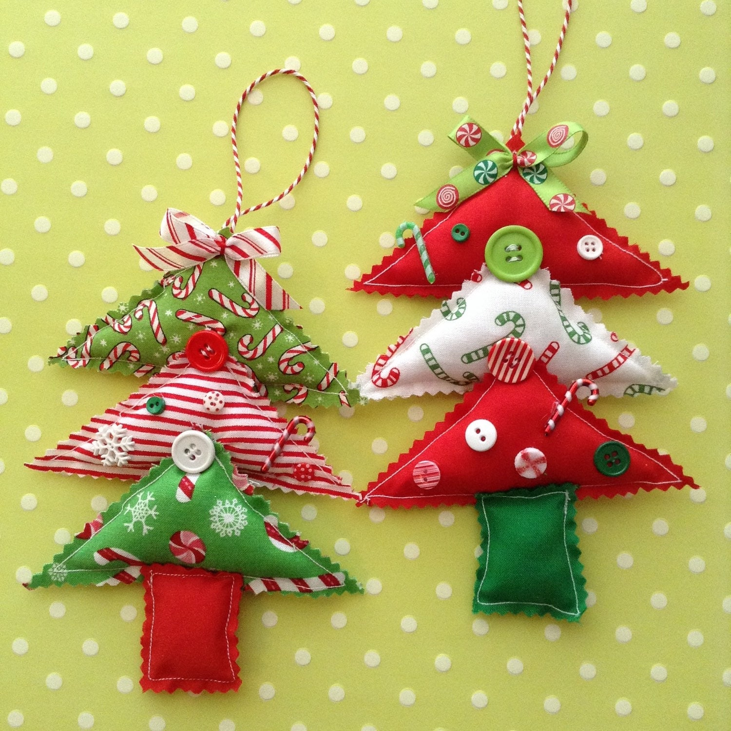 Bicycle Christmas Tree Decorations Ornaments: Christmas Tree Ornaments Fabric Christmas Tree Ornaments
