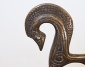 Mid-century Etruscan brass horse in the style of Frederick Weinberg.
