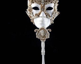 Venetian Mask Calypso with Stick