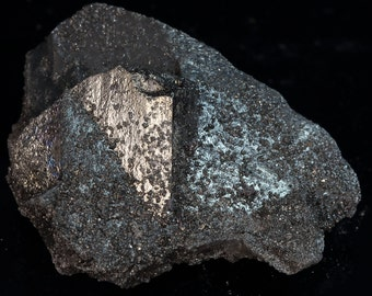 Tetrahedrite Complex Crystal With Druzy Crystal Covering