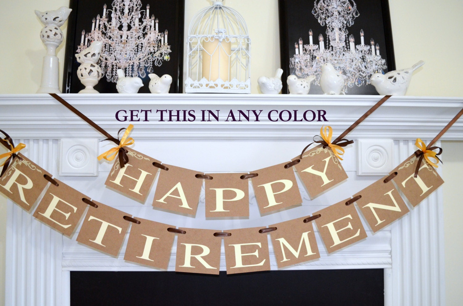 Elegant Retirement Party Decorations & Becuo