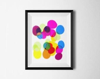 Colorful Art, Kids Art Prints, Art for Kids Room, Modern Art Print, Abstract Wall Art, Minimalist Poster, Art For Children, Art For Kids,