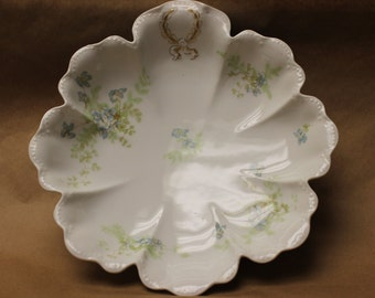 Haviland & Co. Limoges, France BlueSweet Pea Pattern c.1910