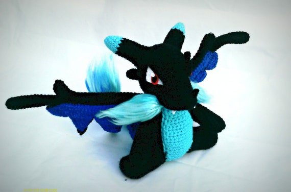Pokemon Inspired Crochet Amigurumi Mega CharizardxKawaii