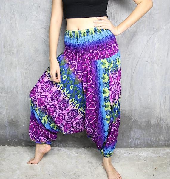 Harem Pants Womens / Boho Pants / Hippie Pants / Yoga By