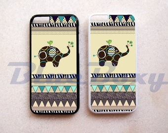 Cute Elephant Aztec iPhone 8, iPhone X, iPhone 7, iPhone 7 Plus, iPhone 6/6s, iPhone 6 Plus, 6s Plus, iPhone 5/5s, iPhone 4/4s, iPhone Cover
