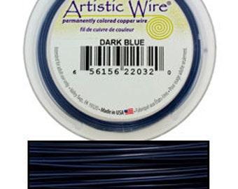 Artistic Wire Dark Blue 20ga - 15 Yard Spool  (WR30320)