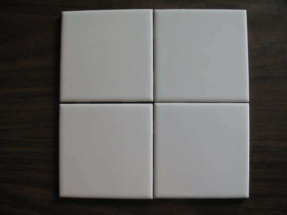 pure white ceramic lamosa mexican tile in x