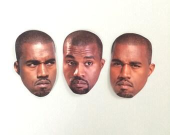 Kanye West Inspired Sticker Set