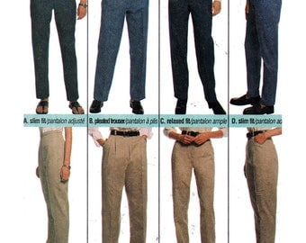 McCall's Sewing Pattern 9233 Misses' Pants, Trousers, Jeans   Size:  14  Uncut