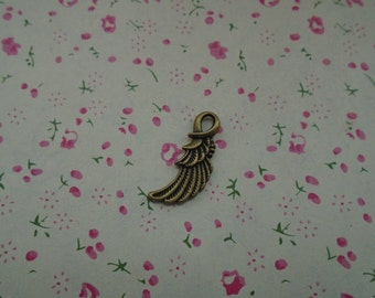 100pcs antique bronze Metal Charms-Angel Wings / Eagle Wings charms pendant 24x10mm