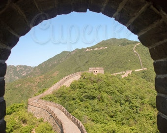FOUR VIEWS of The Great Wall of China - Beijing, China -- Choose your Picture & Size