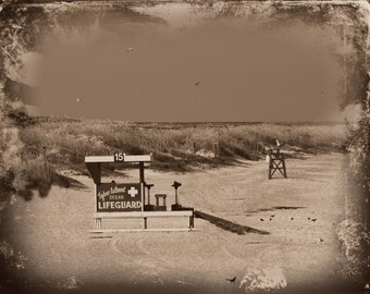 Old Lifeguard Stand in Tybee Island
