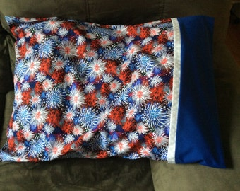 Fireworks Pillowcase