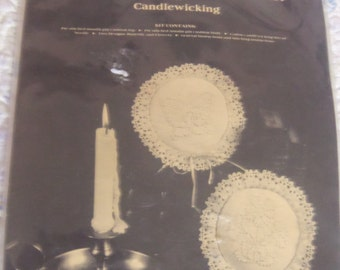 Vintage Candlewicking Colonial Pin Cushion Kit by Back Street