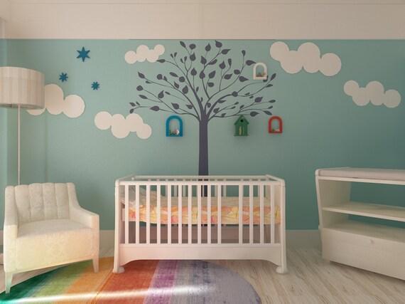 Schablone Wand Baum Baum-wand-schablone Zum
