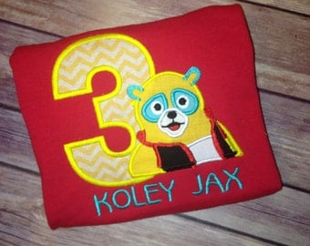 Special Agent OSO Inspired Birthday Shirt