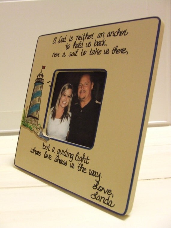 A personalized GIFT for Dad frames for Dad Father from son
