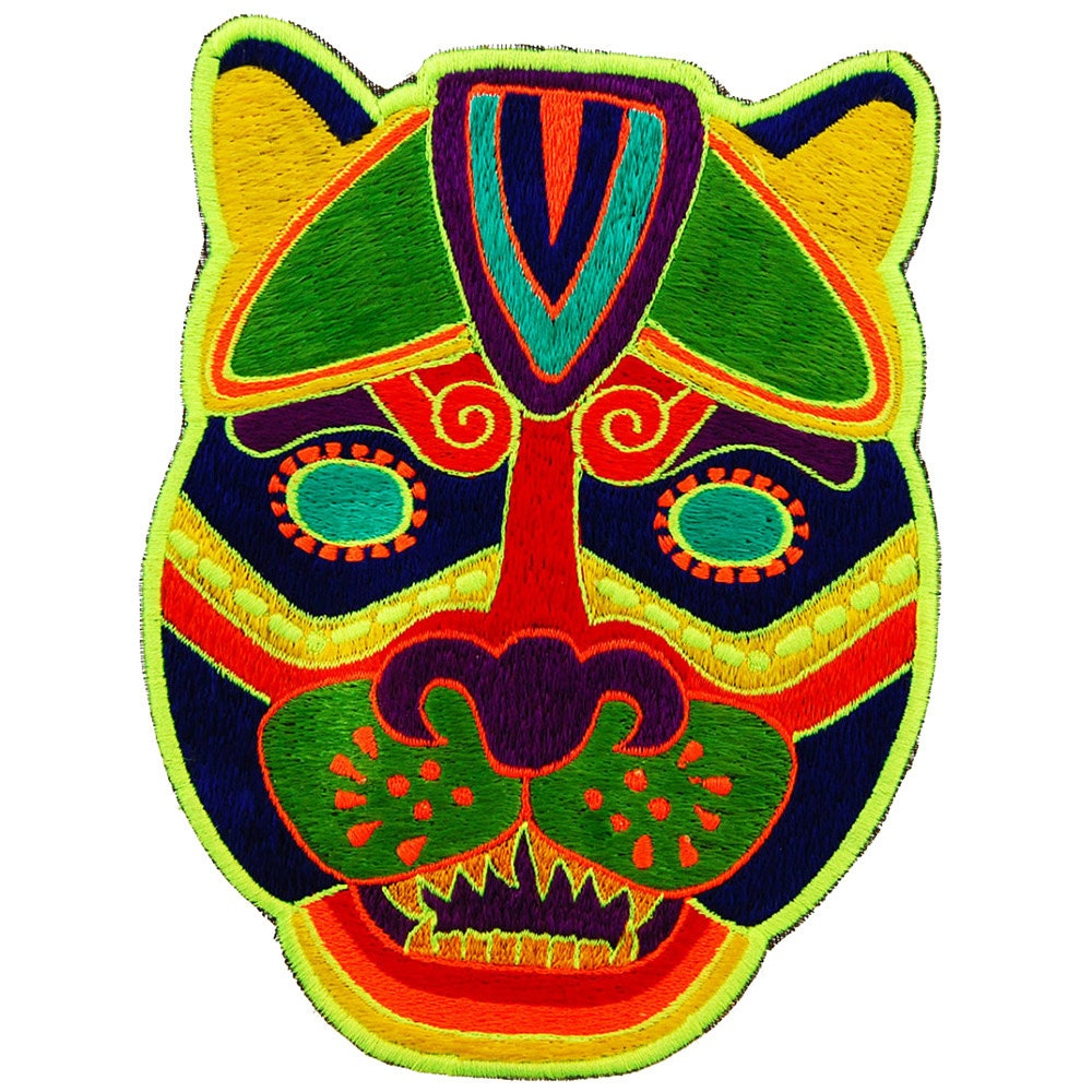 mayan jaguar mask
