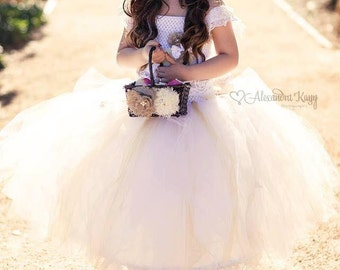 Flower girl tutu dress