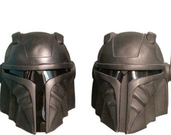 The Renegade - Black Tie Edition Mandalorian Helmet