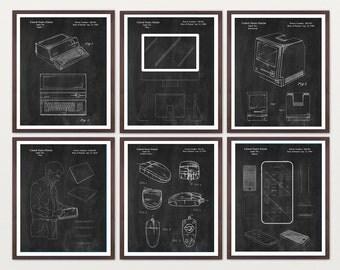 Apple Patent - Computer Patent - Apple Computer Patent - Computer Poster - iphone Patent - iphone - ipad - ipad patent - imac - Steve Jobs