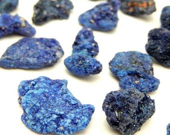 Bulk Azurite Stone -Spiritual - Chakra Stone  (RK10B8-19) You choose 5, 10 or 20 pieces