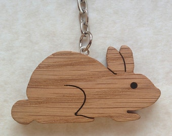 Oak Bunny Rabbit Bag Charm