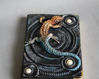 Lizard journal cover