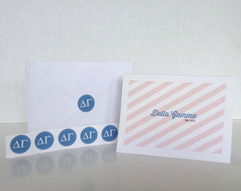 Delta Gamma Note Card Gift Set